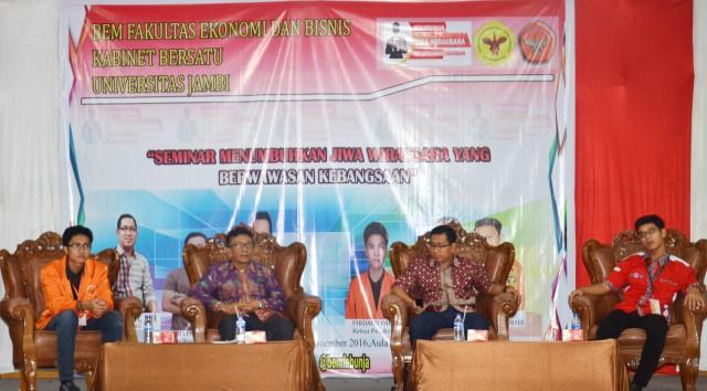 Seminar Kebangsaan dan Kewirausahaan FEB Unja