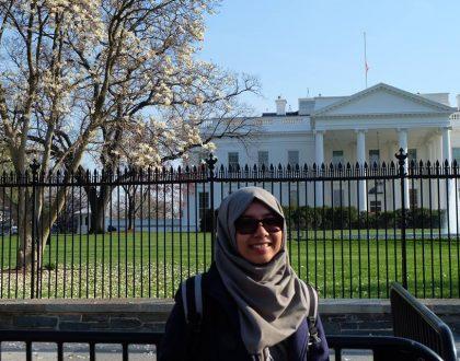 Mahasiswi UNJA Raih Nilai Sempurna di University of Southren Indiana