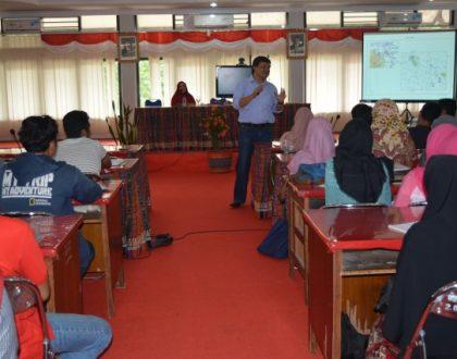 FH. UNJA Adakan Kuliah Umum Posisi Hukum Laut Indonesia