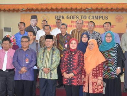 BPK RI GOES TO UNJA