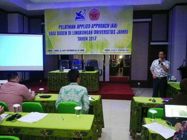 LP3M UNJAAdakan Pelatihan Peningkatan Mutu Dosen