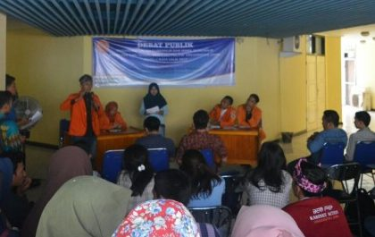 Kupas Visi Misi Cagub dan Cawagub, Fisipol Gelar Debat Publik