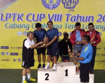 TIM TENIS LAPANGAN UNJA  JUARA 2 LPTK CUP 2017 SE-INDONESIA
