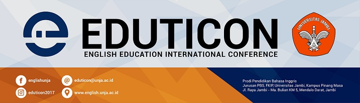 English Education International Conference (EDUTICON) 2017