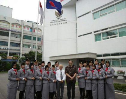 SAFRUN ROBIALLAH, DELEGASI UNJA PADA INDONESIA-KOREA YOUTH EXCHANGE PROGRAM 2017