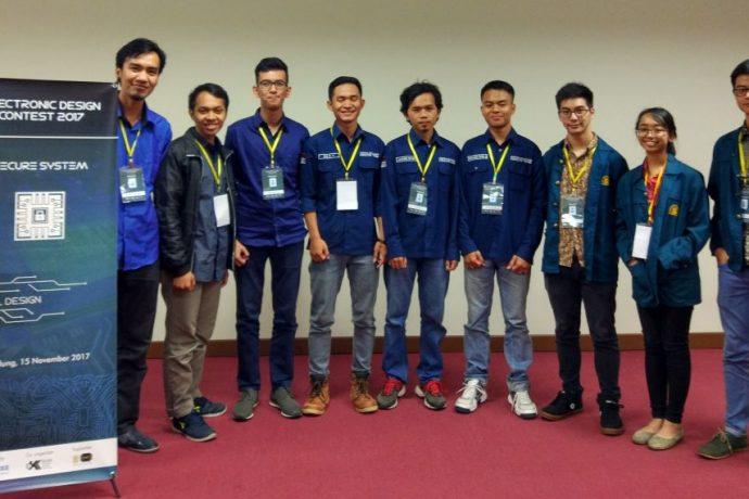 FAKULTAS TEKNIK RAIH JUARA 2 DI AJANG ELEKTRONICS DESIGN CONTEST INDONESIA 2018