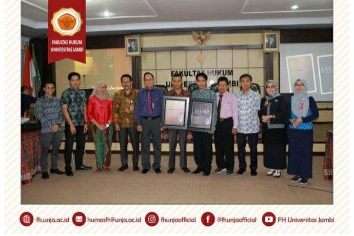 FAKULTAS HUKUM LAUNCHING JURNAL INTERNASIONAL