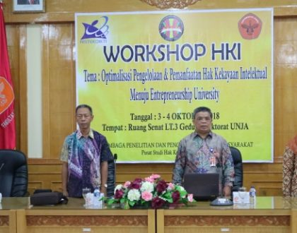 LPPM ADAKAN WORKSHOP HKI