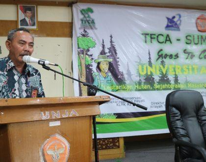 TFCA-SUMATERA GOES TO CAMPUS