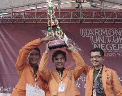 Kalahkan 11 PTN, Mahasiswa Unja Raih Juara 1 Debat Kebangsaan Nasional di Riau