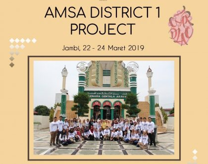 UNJA TUAN RUMAH AMSA DISTRICT 1 PROJECT