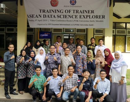 Training of Trainer (ToT) on ASEAN Data Science Explorers 2019