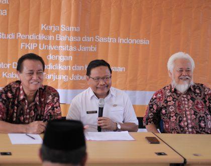 UNJA Gelar Pelatihan Guru dan Pegawai di Tanjung Jabung Barat