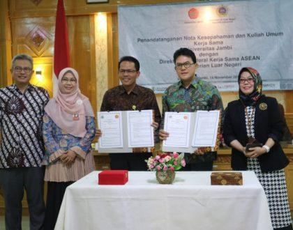 FH UNJA DIRIKAN PUSAT STUDI ASEAN