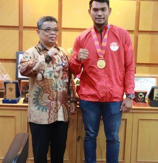 Emas Pertama Sea Games 2019 Untuk Indonesia Dari Mahasiswa Unja